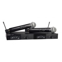 Shure SLXD24D/SM58 Dual Wireless Vocal System with SM58